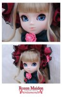Rozen Maiden Shinku Close-Up by ILICarrieDoll