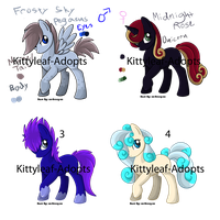 Pony Sheet 1 -- Draw to Adopt -- CLOSED by Kittyleaf-adopts