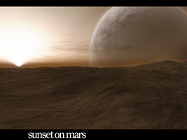 Sunset on Mars by PsychOut