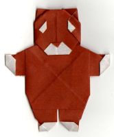 Origami Bear by JubbenRobot