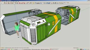 Sketchup - Container A by nnq2603