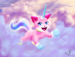 Unikitty by Brandokin-Skyhopper