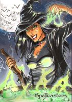 Spellcasters - Witch by JediDad