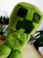 Creeper Plushie by StardustSavior