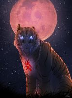 Blind Moon by snappedsniper