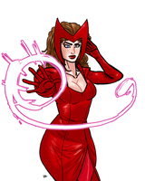 Scarlet Witch 02 by theEyZmaster