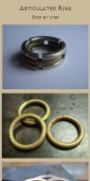 Articulated ring: step by step by Vassilius