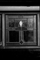 Stained Glass-bw-2 by lichtie