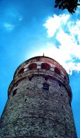 Galata Tower by hatesymphony