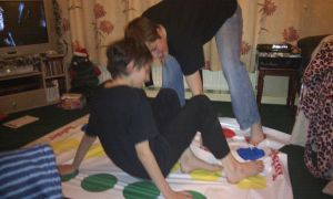 Playing Twister with the Family 1 by demon1993