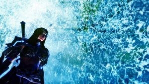 Sylah and the Water by Iazcutler