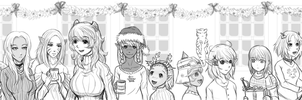 Christmas Party by Redlife