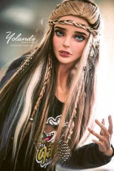 Yolande: Male version by amadiz