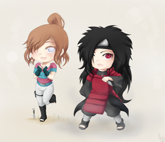 CM:Yatzury and Madara by xXUnicornXx