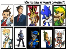 Can you guess my favs? :SHOWN: by DarkStarWolf13