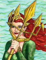 Queen of Atlantis by Kryschenn
