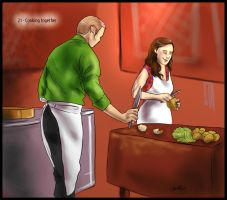 30 Day Hannibloom - 21 Cooking by FuriarossaAndMimma