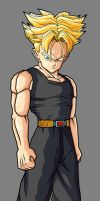Future Trunks SSJ by hsvhrt
