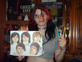 Me and my TAI drawing by MelyssaThePunkRocker