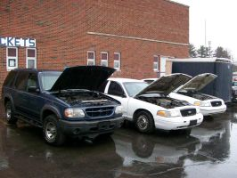 Retired Lake Milton PD Fords by LDLAWRENCE