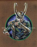 Avengers - Loki (2015) by scotty309