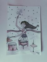 Drummer Girl. by thelegendofnes