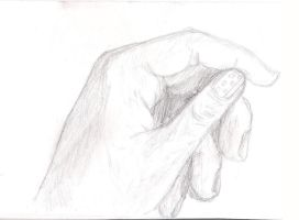 Hand: attempt I by Flagelle