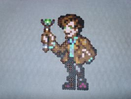 Eleventh Doctor - Doctor Who by PerlerPixelPals