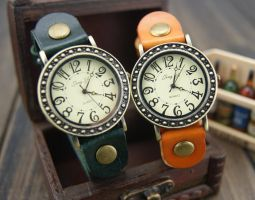 Leather Watches by ailsalu