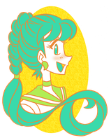 May Palette Challenge: Sailor Ophidian by iLantiis