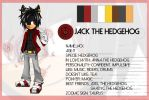 Jack The Hedgehog Reference 01 by Ann-Bel