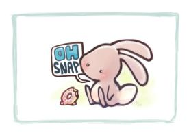 Swearing animals - Bunny by OnJedone