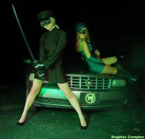 The Green Hornet and Kato by AngelusComplex