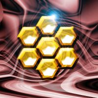 Golden Honeycomb by DarkWolf12