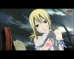 Lucy Hug Natsu's Scarf by MelikeCan