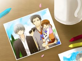 Persona 4- Real Family by meru-chan