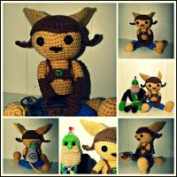 Ratchet and Clank by oywiththeplushies