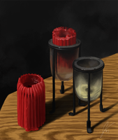 Candle Still Life by CtrlAltCat