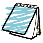 Notepad icon by Obinoobie