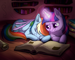 Late Night Study by Kallarmo