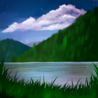 Small landscape by Cats-go-moo-always