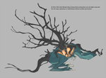 Tree-Zombie-Wyvern-Thing by xxFuria