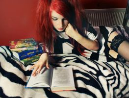 Lets read. readings awesome by Ashiwa666