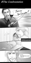 The Confrontation[Valjean and Javert's comics] by pinoqino