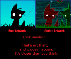 Stop Art Theft by ReplayLive