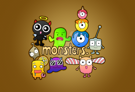 Monsters. by MKho