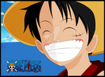 Big smile for me Luffy by Hand-Banana