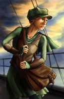 Roya in the Wind by Double-O-Nothing