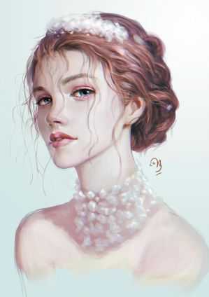 Portrait Study #2 by unbrokendoll