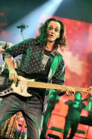 Rush in Hamilton:  Geddy Lee II by basseca